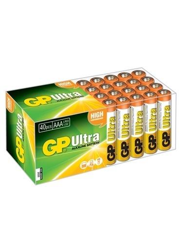 GP 40'li Paket Ultra Alkalin AAA İnce Kalem Pil Renksiz